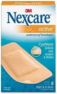 Nexcare Diamond-shape Knee/Elbow Bandage - 1.12 x 4 - 8 / Pack - Beige