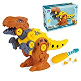 TGRBOP Juguetes De Dinosaurios para Niños, Triceratops Centrosaurus Velociraptor Tyrannosaurus...