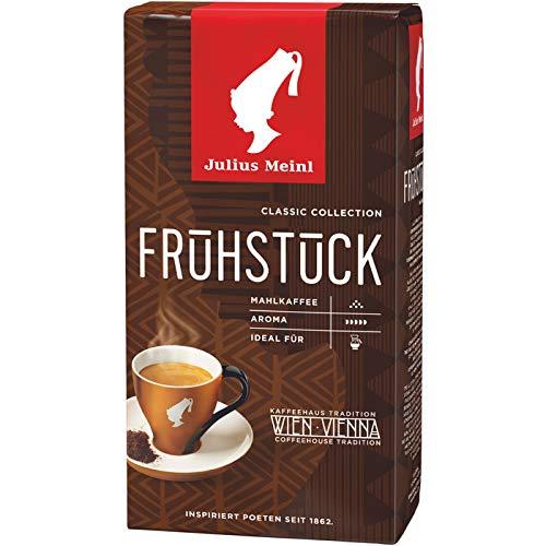 Julius MEINL Kaffee Genuss Frühstückskaffee, 5 Packungen mit jeweils 500 g, gesamt 2.5 KG