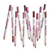 Colcolo 12 Farben Lipliner Wasserdichte Lipliner Lippenstift Lippenkonturenstift