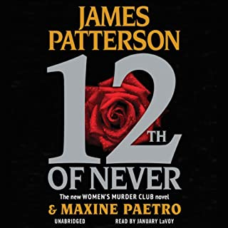 12th of Never                   By:                                                                                                                                 James Patterson,                                                                                        Maxine Paetro                               Narrated by:                                                                                                                                 January LaVoy                      Length: 7 hrs and 6 mins     1,740 ratings     Overall 4.3