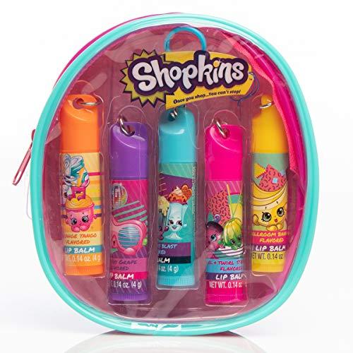 Shopkins Backpack Lip Balm Set