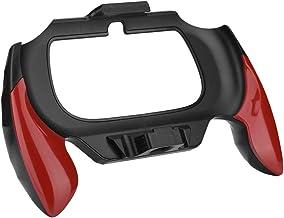 Junluck Suporte de alça de mão ABS para Sony PSV PS Vita 2000 ergonômico, confortável e antiderrapante (vermelho)