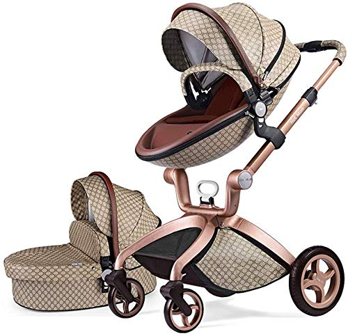 Cochecito de Bebe Hot Mom Cochecito y Sillas de paseo 3 en 1 con silla...