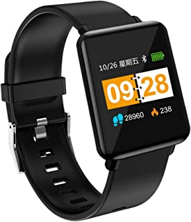 Smart Watch, Heart Rate Activity Step Music Control Smart Watch for Kids Women Men (