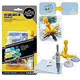 BESWORLDS Windshield Repair Kit, Windshield Crack Repair Kit, Auto Glass Repair Kit for Chips & Cracks & Bulls-Eye & Star-Shaped & Nicks & Half-Moon & Crescents - Car Windshield Repair kit