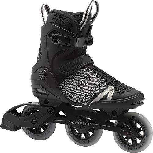 Firefly Herren Ils 710 U100 Skateboardschuhe Schwarz (Black/White 900) 43 EU