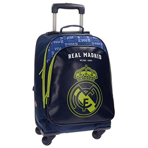 REAL MADRID Champions - Equipaje juvenil deportivo - 50 cm - 33L