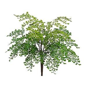 19″ Maidenhair Fern Bush Green (pack of 12)
