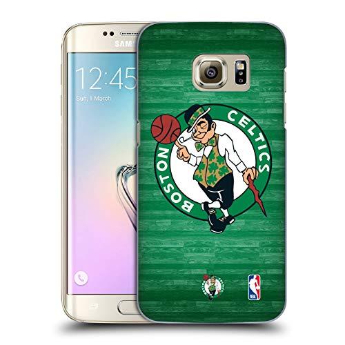 Head Case Designs Ufficiale NBA Tribunale Smisurato Boston Celtics 3 Cover Dura per Parte Posteriore Compatibile con Samsung Galaxy S7 Edge