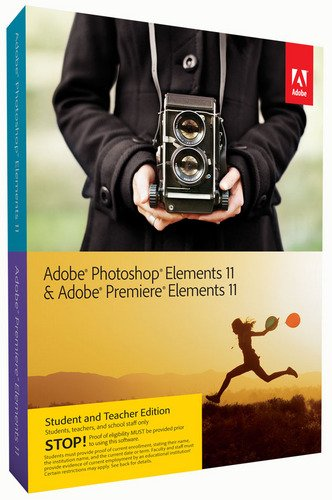Adobe Photoshop Elements 11 & Premiere Elements 11 - Software de gráficos (PC, Mac, 7168 MB, 2048 MB, ENG, .)
