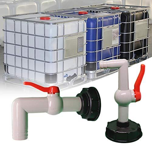 Coil.c IBC - Grifo de salida IBC, adaptador de tanque IBC de