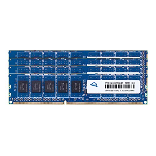 OWC 32.0GB (4X 8GB) DDR3 ECC-R PC10600 1333MHz SDRAM ECC for Mac Pro