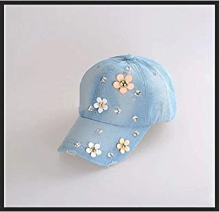 Fashion Diamond Print Cowgirl Hat Rhinestone Casual Hat Sunscreen Sunshade Outdoor Wild Baseball Cap 2019 Women's Baseball...