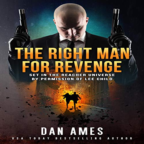 The Right Man for Revenge audiobook cover art