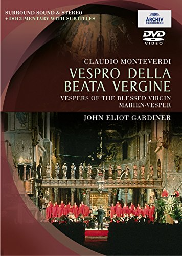 Vespro Della Beata Vergine: The Monteverdi Choir [DVD] [2003]