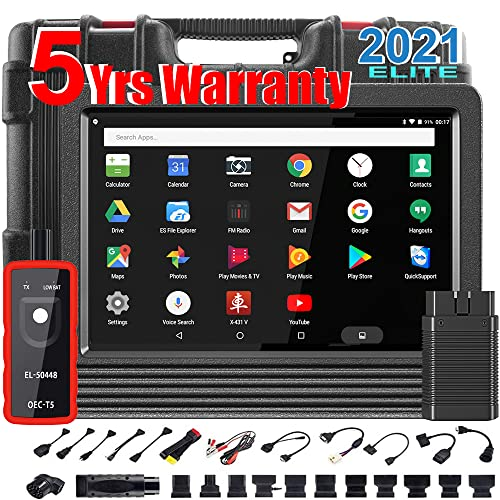 (2021 Global Ver.) LAUNCH X431 V Pro Android 9.0 2021 Latest Bidirectional Scan Tool, Full System...