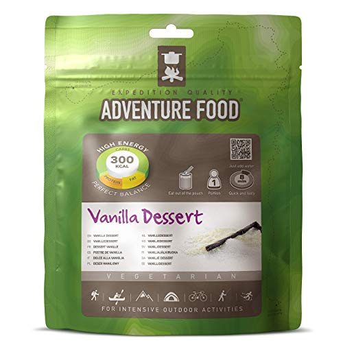 TREKMATES ADVENTURE FOOD DESSERT VANILLA FOR 1 PERSON (GREEN POUCH)