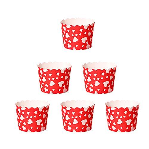 Mini muffin förmchen Papier kuchen tasse Muffin cases Kuchenkörbchen Papier cupcake förmchen Muffin cupcake formen für Cupcake im Backtage Geburtstage Teekränzchen Hochzeiten und Partys 50 Stück