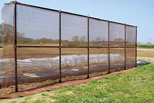 DAIM ガーデンアグリパイプ φ33mm 全4規格 単管パイプ 軽くて丈夫 おしゃれな単管パイプ 畑や庭の囲い、果樹棚、防獣、鳥よけ、風よけ用の支柱に (1m)