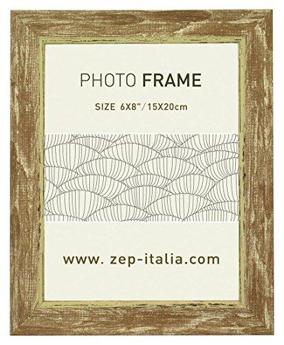 Zep CC434Fotorahmen, Harz, Kunststoff braun 43,5x 33,5x 1,5cm