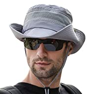 Fishing Sun Boonie Hat Wide Brim Outdoor Hiking Safari Summer Hunting Hat UV Protection Sun Cap