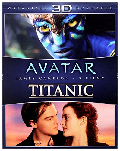 Avatar 3D / Titanic 3D [6xBlu-Ray] (Keine deutsche Version)