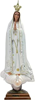Our Lady Of Fatima Statue Religious Figurine Virgin Mary Madonna Made In Portugal … (23.5