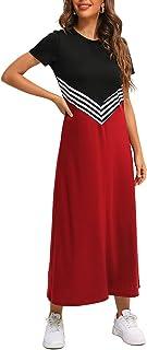 FridayIn Women's Fashion A-line Summer Casual Dress