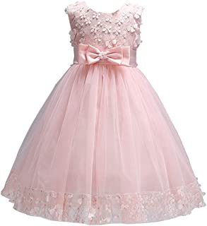 Fairy Baby Girl Princess Gown Pageant Dress Kids Flower Party Wedding Bridesmaid Dresses