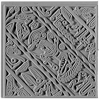 braun 9 x 9 x 0,3 cm Naturkautschuk efco Texturmatte
