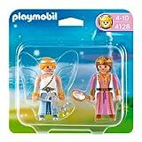 PLAYMOBIL - Pack de 2 Figuras Princesa y Hada (4128)