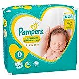 Pampers Premium Protection New Baby Windeln, 1,5-2,5 kg, 24 Windeln, Größe 0 - 7