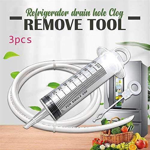 Kühlschrankablasslochentferner, wiederverwendbarer Spülentleerungsentferner Verstopfungsentferner-Werkzeugsatz für Spülbeckenreiniger-Heimwerkerwerkzeuge 3Pcs