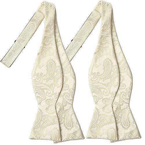 Ivory Graceful Ties - 1