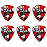 Quinn Character Novelty Guitar Picks Medium Gauge - Set of 6