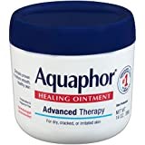 Aquaphor Healing Ointment - Moisturizing Skin Protectant for Dry Cracked Hands, Heels and Elbows,...