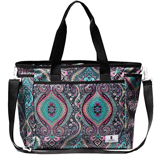 Women Weekender Overnight Travel Shoulder Bag Overnight Carry-on Duffel Gym Tote Luggage