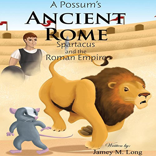 A Possum's Ancient Rome audiobook cover art