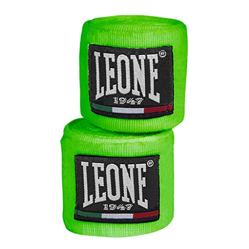 LEONE 1947 AB705 Vendajes, Color Verde, 3,5 m