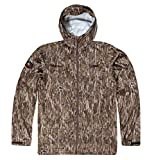 Mossy Oak Camo Rain Jacket, Mens Camo Jacket, Lightweight Camo Rain Gear