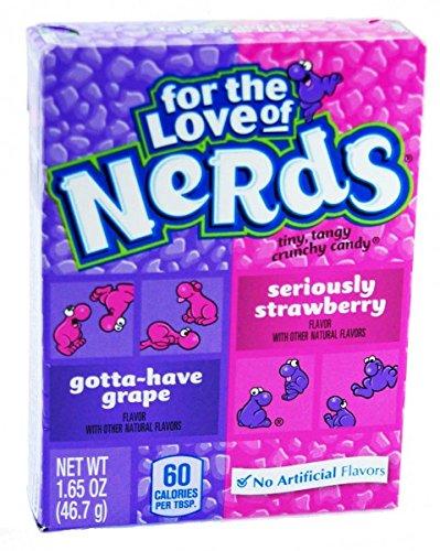 Wonka Nerds Grape-Strawberry Candy 46,7g