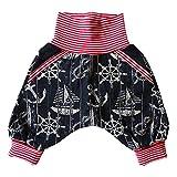 Eve Couture Babykleidung Kinderkleidung Mitwachshose Hose Anker Liebe Mädchen Junge Unisex Rockabilly Jeans (50/56/62)