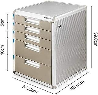 Classeurs WHLONG Fichier verrouillables Cabinet d'affaires à Trois Couches tiroir de Bureau Gestionnaire de Bureau Bureau ...