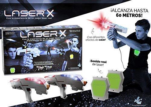 Laser X - Pistola Doble