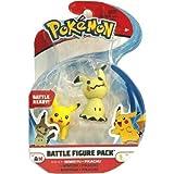 Pokemon Mimikyu Pikachu 2 Inch Battle Figure