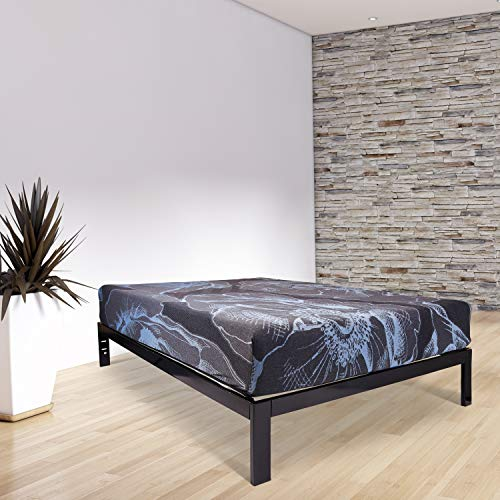 Wolf Composure Wrapped Coil and Latex Hybrid Mattress and Platform Set, Twin