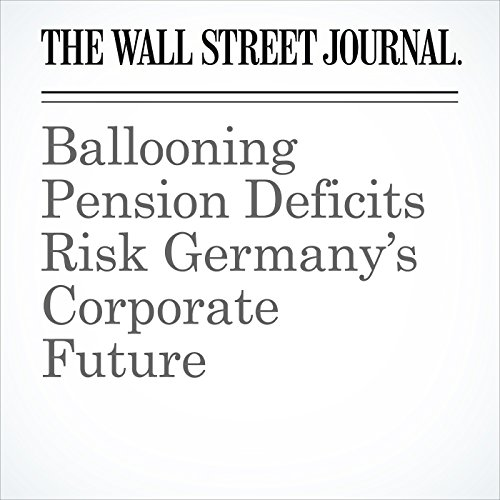 Ballooning Pension Deficits Risk Germany's Corporate Future copertina