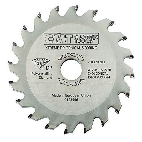 CMT Orange Tools 238.125.20H - Incisor conico dp d 125x3.1/3.7x20 z 20