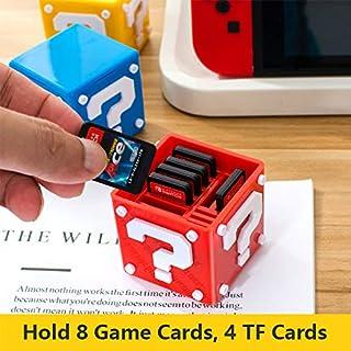 YTGOOD Rangement de Jeux pour Nintendo Switch,pour Nintend Switch Game Game Case Case Box Accessoires Accessoires pour Ten...